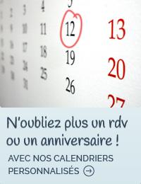 N'oubliez plus un rdv ou un anniversaire !